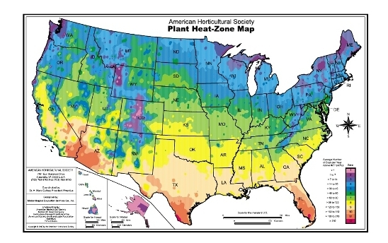 Understanding Your Climate Zone Rimol Greenhouse Systems - Us growing season map
