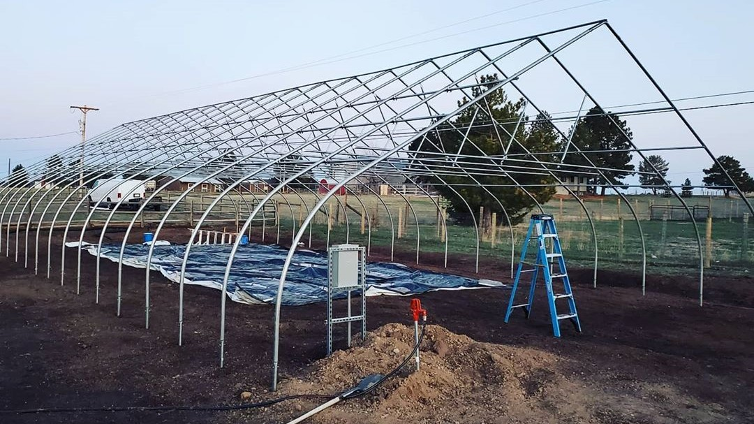 How A Greenhouse Is Helping This Hobby Farmer Achieve Larger Than Life Goals