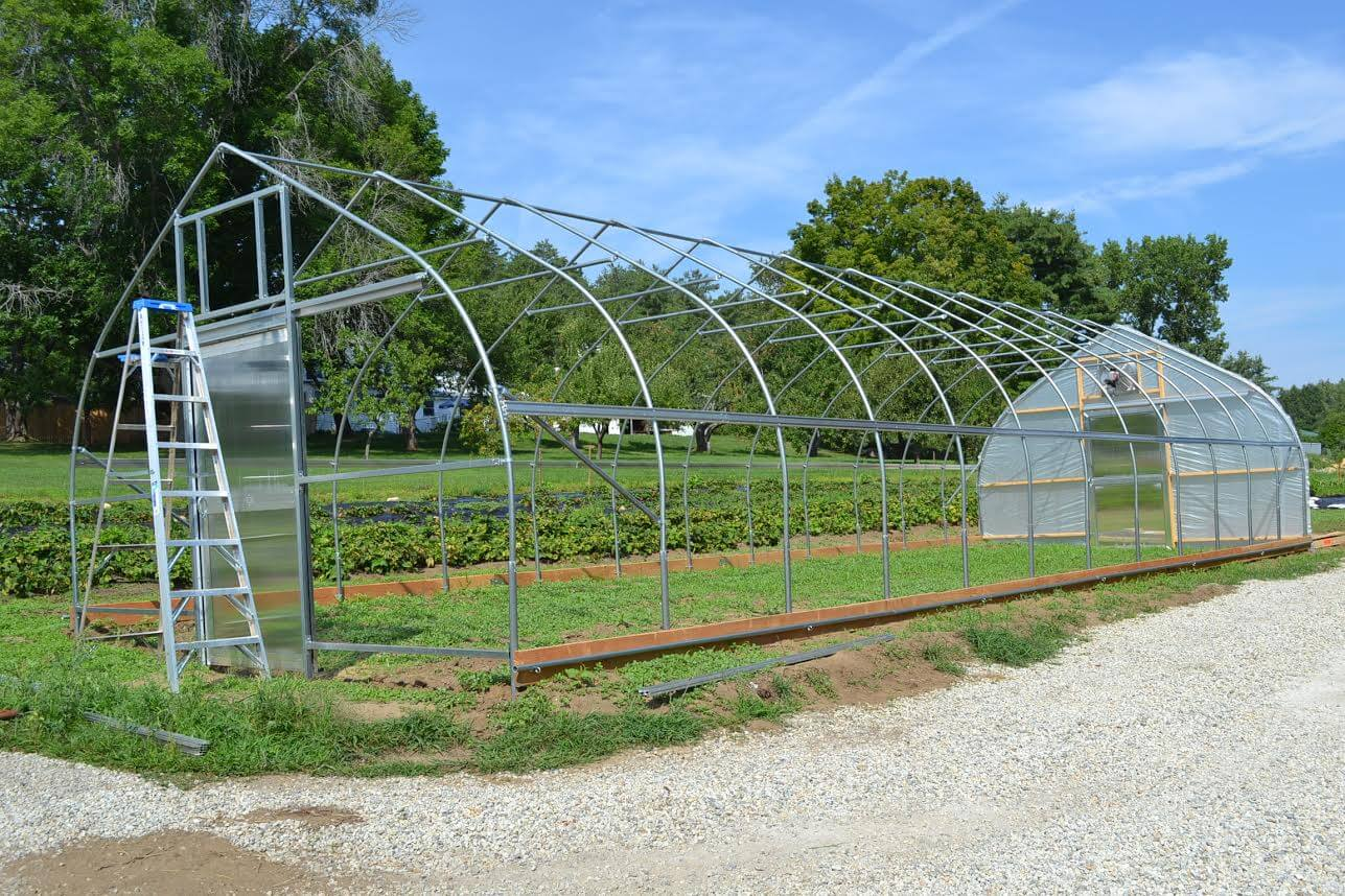 Bobcat greenhouse, from Rimol Greenhouse Systems