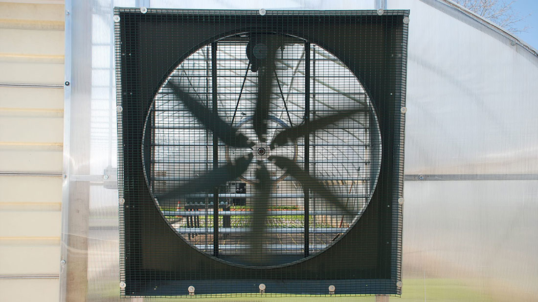 How To Size Greenhouse Fans & Shutters | Rimol Greenhouse