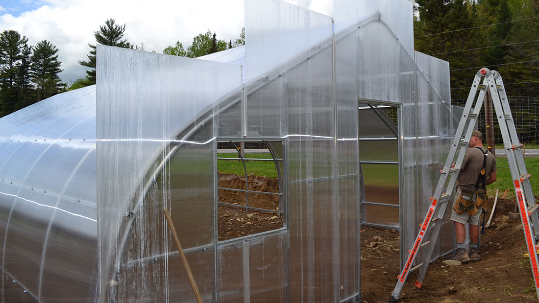 How To Install Polycarbonate Covering | Rimol Greenhouses