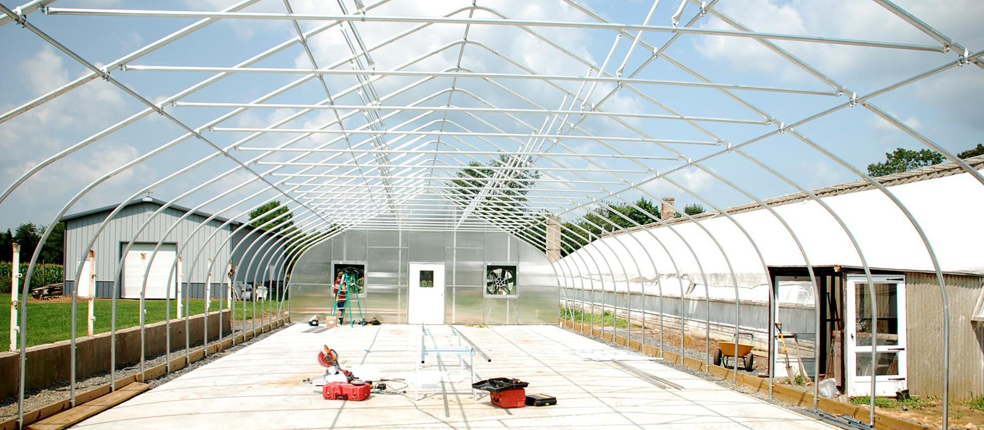 Greenhouses for Cannabis Production by Rimol