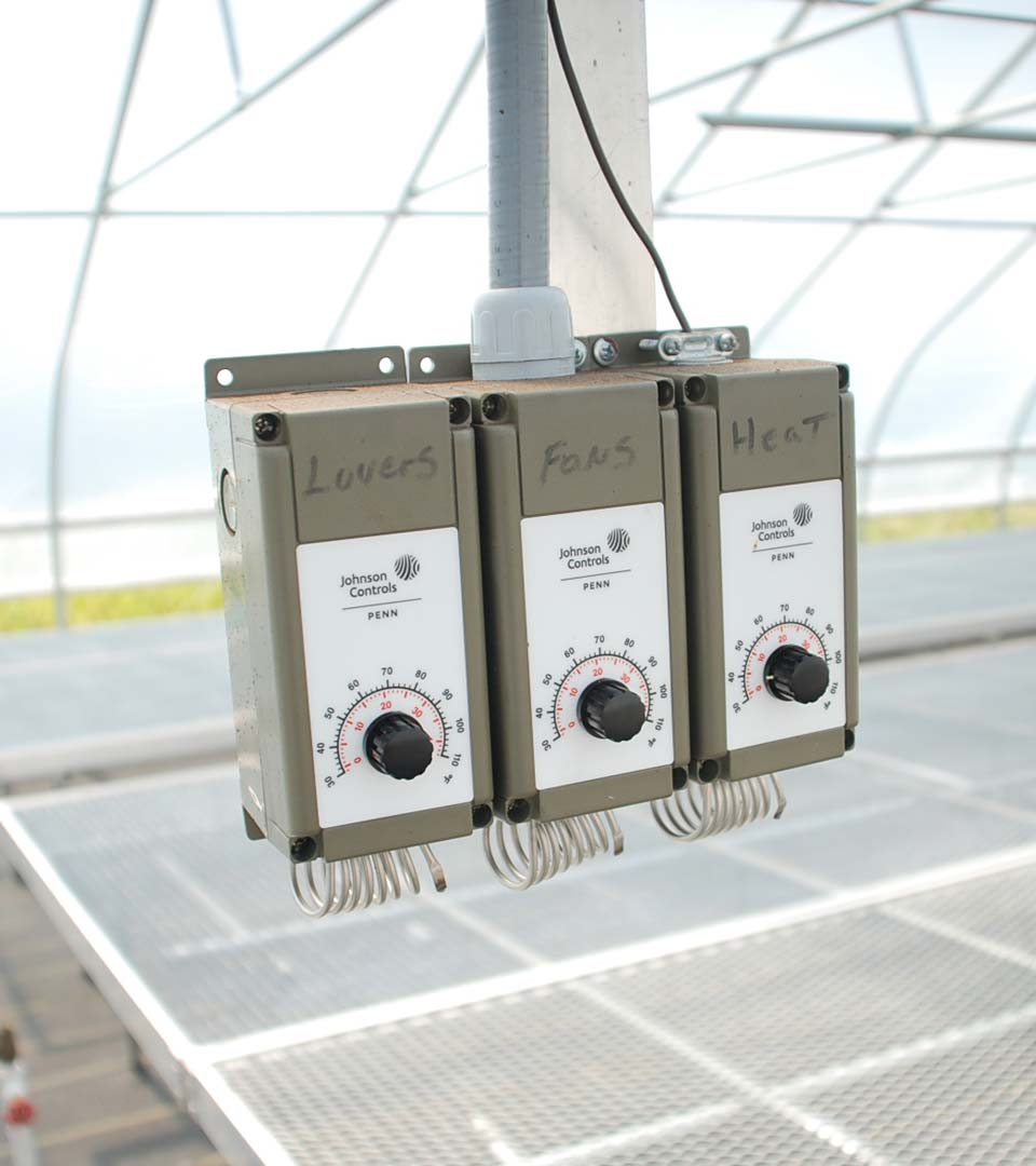 Greenhouse thermostats