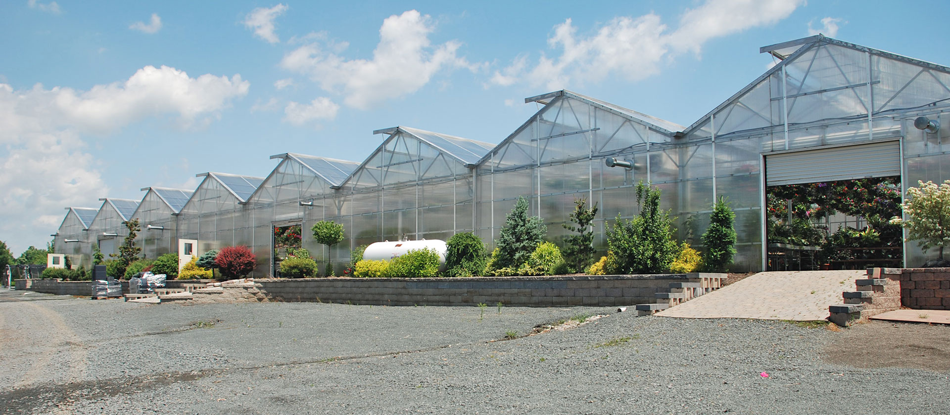 Matterhorn greenhouses by Rimol