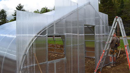 Install Polycarbonate